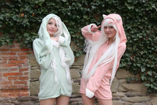 Bunny jacket Cosplay by Lewyko