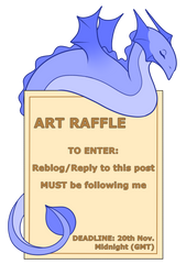 ART RAFFLE - CLOSED by GoldieClaws