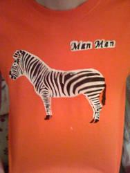 Zebra Shirt by LiuTze89