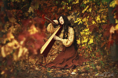 Melodie d'automne I by Santa-Evita