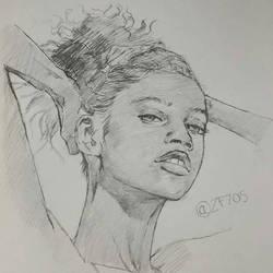 Portrait 2 by zf705
