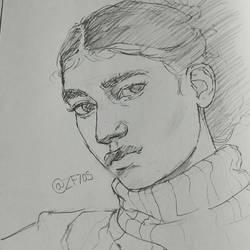 Portrait 3 by zf705