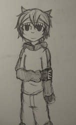 Random Sketch: Violet by JustFr0sty