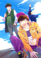 Osomatsu-san Love by Meoon