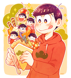 Osomatsu-san - Crepe by Meoon