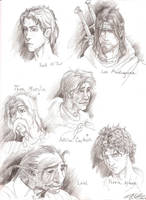 The Wheel of Time fanart by Young-Wolf