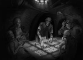 Vampire The Masquerade RPG Scene 08 by Young-Wolf