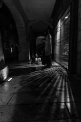 Night Fall by Wrightam