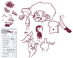 Clip Studio Paint Custom Inking Pen by Kabiscube