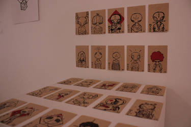 Artist Trading Cards Close-up by Kabiscube