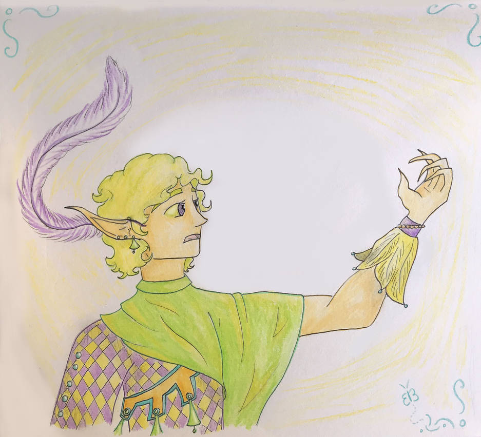 Fairy Bard by KnightofNoitcif53