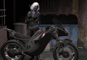 Dark Rider by Nephanor