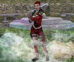 Belianis, Blood Knight by Nephanor