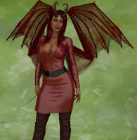 Ruby the Succubus by Nephanor