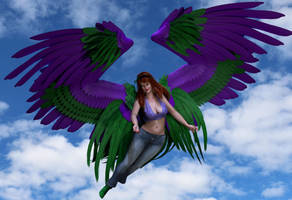 Guardian Angel Vivian James (No Text) by Nephanor