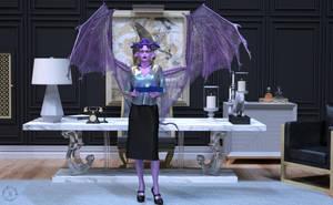 Iris Slavina - Tax Auditor by Nephanor