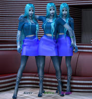 The Moore Triplets by Nephanor
