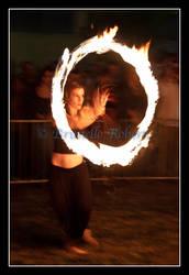 Fire Juggler by cicciojus