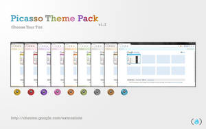 Google Chrome Tint Themes by arjunphlox