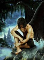 Fallen Angel by JdelNido