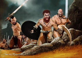 Barbarians by JdelNido