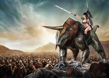 Warrior Leader by JdelNido