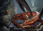 Dragon Cavern by JdelNido