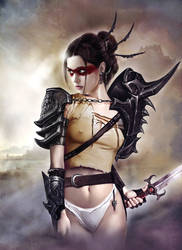 Warrior Serie02 by JdelNido