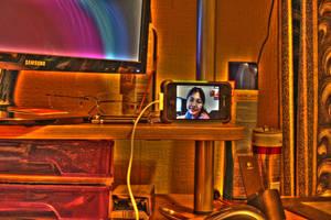 HDR desk by Vitaloverdose