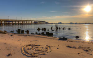 Love on the beach by Vitaloverdose