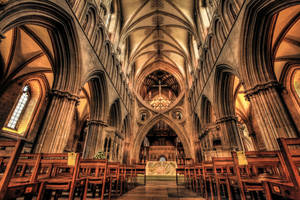 Wells Cathedral - interior by Vitaloverdose