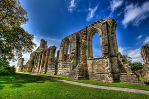 Glastonbury Abbey 5 by Vitaloverdose