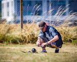 Drone racing by Vitaloverdose