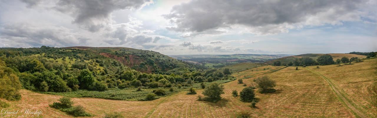 The Quantocks, Mendip hills by Vitaloverdose
