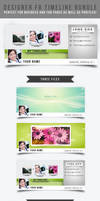 Designer Facebook Timeline Bundle by frozencolor