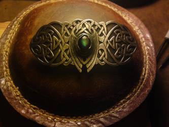 celtic belt buckle by RhouenRhu