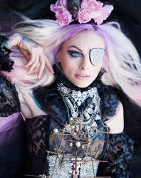 Stock image pink pirate by melinahollway