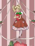 Strawberry- for kmcgeijyutsuka by Mythrael