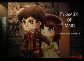 [Doctor Who 4th Doctor] Pyramids of Mars by skylord1015
