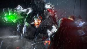 Batman vs Superman by Scotchlover