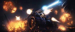 Starcraft 2 - Swarm Crusher by Scotchlover