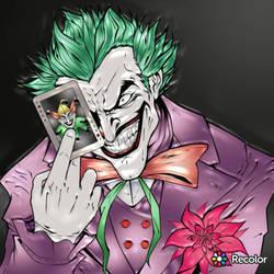 the joker digital coloring  by argusZn