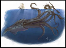 Kraken by CamusAltamirano