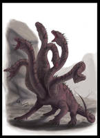 Lernaean Hydra by CamusAltamirano