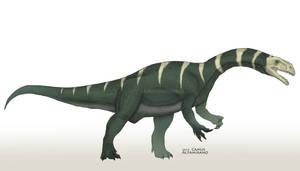 Plateosaurus engelhardti by CamusAltamirano