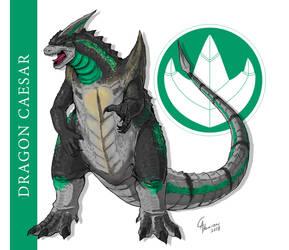 Dragon Caesar/Dragonzord by CamusAltamirano