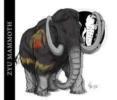 Zyu Mammoth/Mastodon by CamusAltamirano
