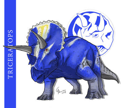 Triceratops by CamusAltamirano