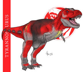 Tyrannosaurus by CamusAltamirano