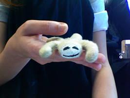 pocket sloth by little-razorblade